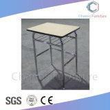 Ronda de la parte superior azul piernas Mobiliario Escolar estudiante Tabla (CAS-SD1835)