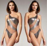 주문 형식 투명한 메시 디자인 한 조각 수영복 수영복