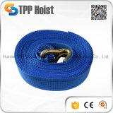 Il cricco 100% della tessitura del poliestere lega giù il carico della cinghia che frusta la cinghia della cinghia