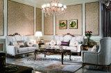 0070-1 alto tessuto di legno solido di lucentezza o sofà classico del cuoio