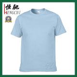 T-shirt de publicité du coton des hommes faits sur commande de qualité