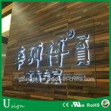 Facelitによってバックライトを当てられる屋外の内部の店のLED事業広告の経路識別文字の印