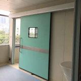 Porte hermétique de garantie en métal de porte coulissante d'hôpital