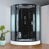 Cabina de ducha de esquina en línea con la revisión de la bandeja bajo la cota 100