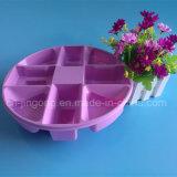 Rosafarbenes Belüftung-Blasen-Tellersegment für NahrungplastikBliter Verpackung
