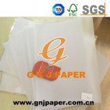 Folha de papel de tamanho grande com embalagem de paletes