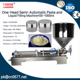Полуавтоматная машина завалки для сливк (G1WGD) 100-1000ml