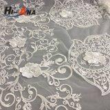貿易保証の熱い販売の有機性綿のレースファブリック