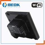 Regulador elegante de la temperatura ambiente del termóstato de WiFi con la pantalla de cristal grande