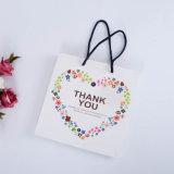 Sac de empaquetage pliable de cadeau de constructeur, sac à provisions avec le logo