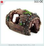 O Aquário de resina Visualizar Rock Ornamento do tanque de peixes Caverna Decoração Decoração