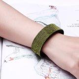 Bijou artificiel de mode de bracelet en gros d'alliage