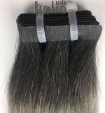 PRO Onda Reta Dupla Ombre 18 Polegadas Extensão de cabelo de fita