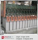 Strumentazione di fabbricazione automatica del blocchetto del gesso migliore macchinario dei materiali