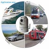 20X 1080P de 4G WiFi portátil de la red de seguridad del vehículo cámara PTZ