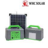 Ahorro de energía portátil 10W Kit Solar Sistema de iluminación del hogar