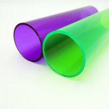 Tubo redondo multi del claro PC/PVC del color