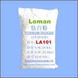 Dióxido Titanium Anatase TiO2 elevado La101 satisfeito