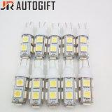 Lampadina automatica eccellente delle lampadine 12V 24V LED dell'automobile 9SMD LED di qualità T10 194 W5w 5050