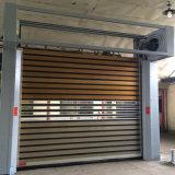 Трудная высокоскоростная дверь штарки завальцовки/дверь сплава Alluminum