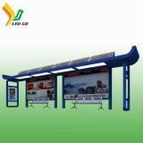 Pleine couleur P10 l'énergie solaire de l'enregistrement pour station de bus de panneaux LED
