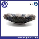 Roue de la Brosse brosse industrielle personnalisé pour l'Ébavurage polissage-100067 (WB)