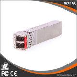 10G-SFP-ER 10G compatibles de Cisco SFP+ 1550nm a 40km de los transceptores de fibra óptica