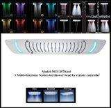Cer genehmigter 7colors LED Niederschlag und Wasserfall-Dusche-Kopf