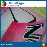Im Freien doppelte Seiten druckten Digital-Drucken-Vinylstraßenlaterne-Markierungsfahnen-Fahne