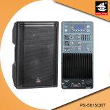 15 Zoll PROaktiver Plastiklautsprecher PS-5815cbt USB-180W Ableiter-FM Bluetooth