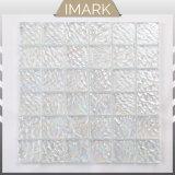ファクトリー・アウトレットのタイルの白いガラスモザイク・タイルのシャワー室のタイル