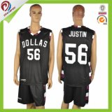 Sublimated Sport Wear Custom 100% Polyester Basketball Jersey for Kids