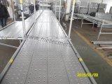 Tipo tablón de acero de Layher del andamio de la anchura de 320m m