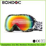 Vendre à chaud de la neige des verres de lunettes de ski à objectif interchangeable