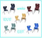 Cadeira de madeira dos PP da mobília de escola da cadeira de mesa do estudante do estilo quente