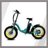 """"""" bici eléctrica plegable del neumático 20 de la montaña gorda de la nieve para la venta"""