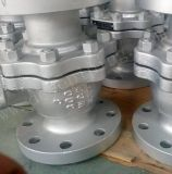 Una API de acero al carbono wcb216CL300lbs Válvula de bola con brida de bola flotante