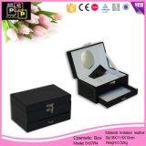 De Doos van de Juwelen van het Leer van de Doos van de Verpakking van de Juwelen van de Luxe van de douane (5107R1)