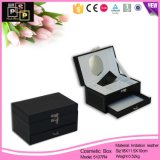 La joyería de lujo personalizado Caja Joyero de cuero (5107R1)