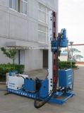 Jet que mampostea la plataforma de perforación con el compresor de aire y la bomba de alta presión