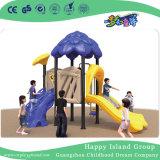 De openlucht Blauwe Speelplaats van de Kinderen van het Staal van de Boom Huis Gegalvaniseerde voor Verkoop (Hg-10202)