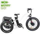 48V 500W три колеса электрический велосипед с Fat давление в шинах