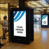 Реклама прокрутка знаки, прокрутка окна Mupi освещения дисплея