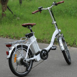페달을%s 가진 전기 자전거를 접히는 Portable