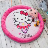 만화 둥근 면 아이들 아이 유아 아기 어린이 침대 침대 매트리스