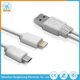 Carga de datos de alta calidad del cable USB cargador de teléfono móvil