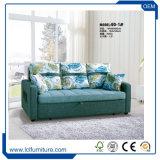 ホーム家具3のシートのソファーの一つMOQ房状になっているファブリック家具製造販売業のスリープの状態であるソファーベッド