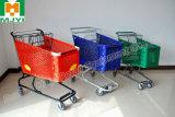 플라스틱 슈퍼마켓 편리한 소매 쇼핑 트롤리
