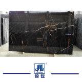 싱크대 또는 물동이 수채 실내 마루 또는 벽 또는 도와를 위한 중국 자연적인 Polished Nero 금 대리석