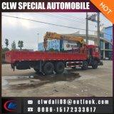20tons 이동할 수 있는 트럭 기중기, LHD 또는 Rhd는 접히는 4/5를 가진 선택, 트럭 기중기 또는 똑바른 팔이다